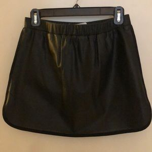 thakoon addition perforated leather skirt